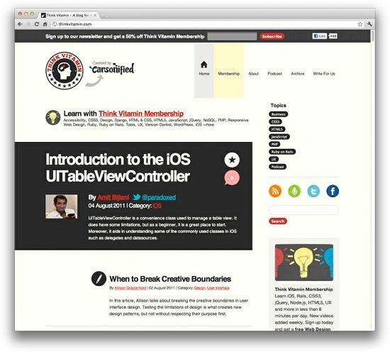 30 Useful Responsive Web Design Tutorials - Hongkiat - resume site