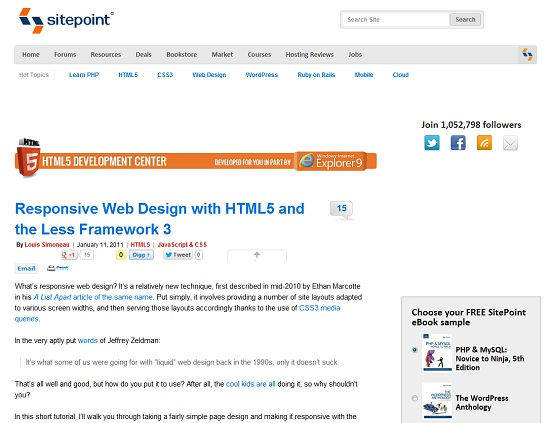 30 Useful Responsive Web Design Tutorials - Hongkiat - feedback form sample