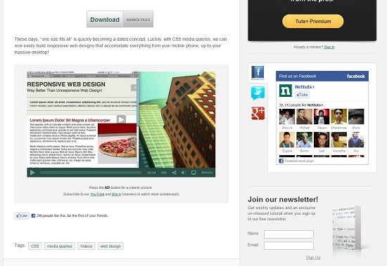 email newsletter templates free download