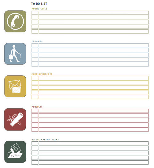 task template word