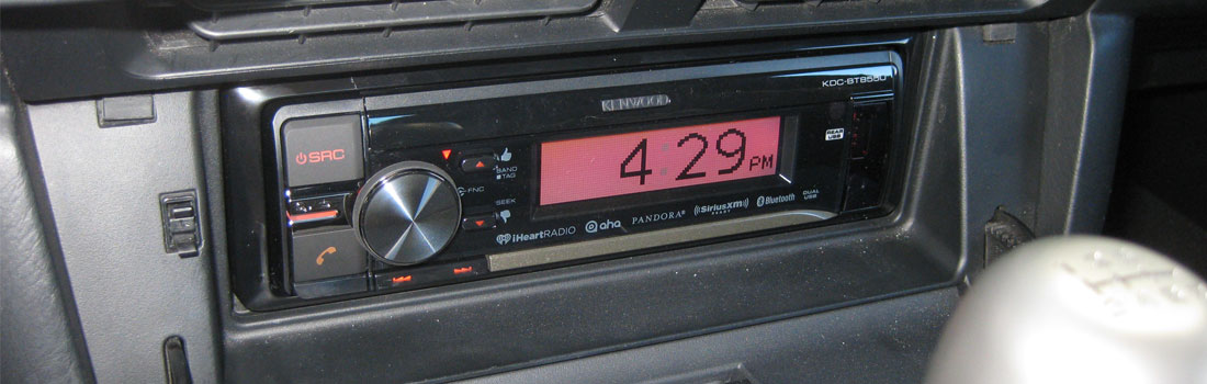Upgrade the Radio With Modifry Dash Controls on a Honda S2000
