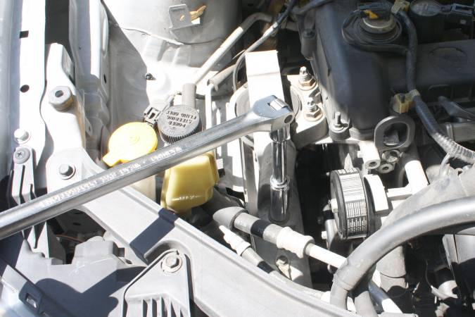 Replace the Passenger Side Motor Mount on a Mazda 3 and Mazda 5 23