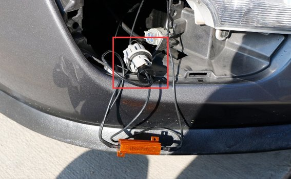 Install the LED DRL/Turnsignal Lights on a 2013-2015 Nissan Altima