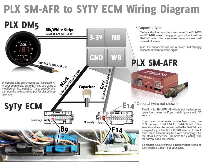 Wiring the PLX SM-AFR Wideband Oxygen Sensor on a GMC Syclone