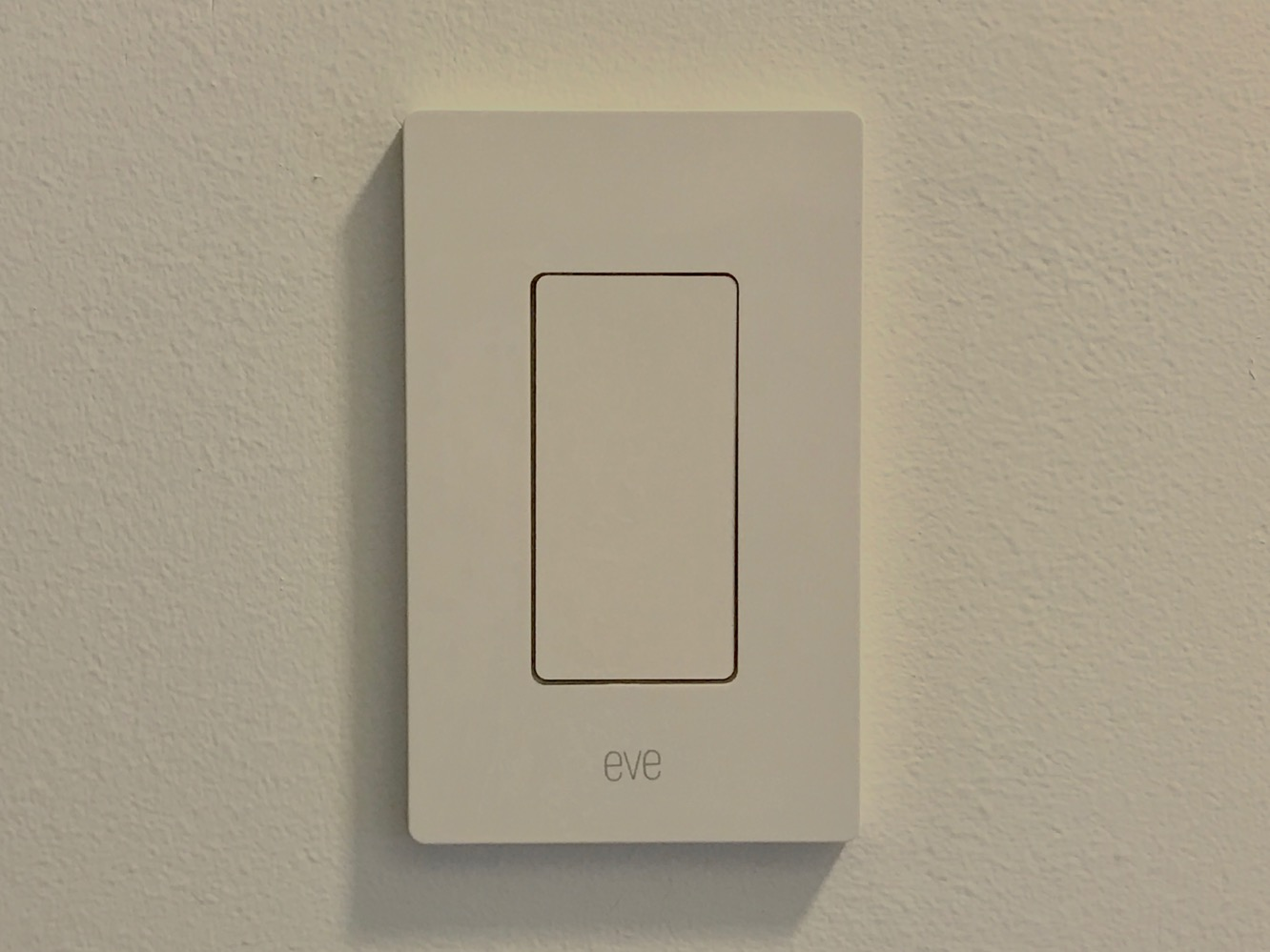 Switch Light Review Elgato Eve Light Switch