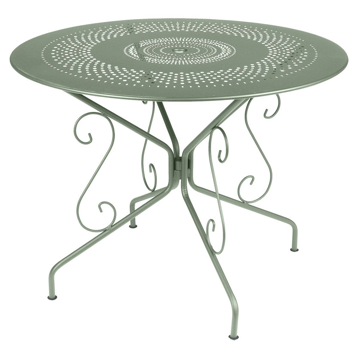 Salon De Jardin Montmartre Montmartre Outdoor Table Round 96cm Montmartre French