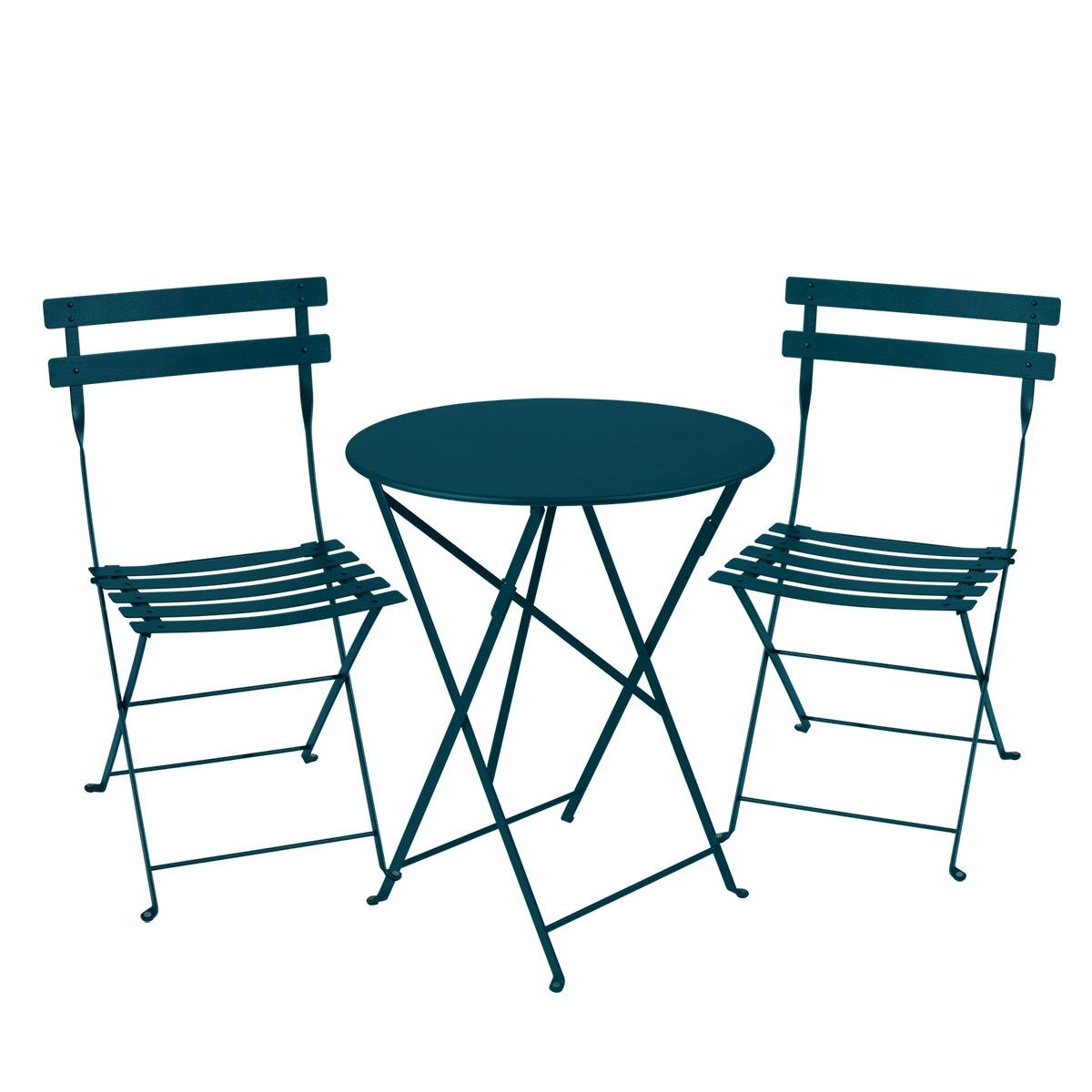 Outdoor Lounge Nz Fermob Bistro Set 60cm Table And 2 Chairs Outdoor