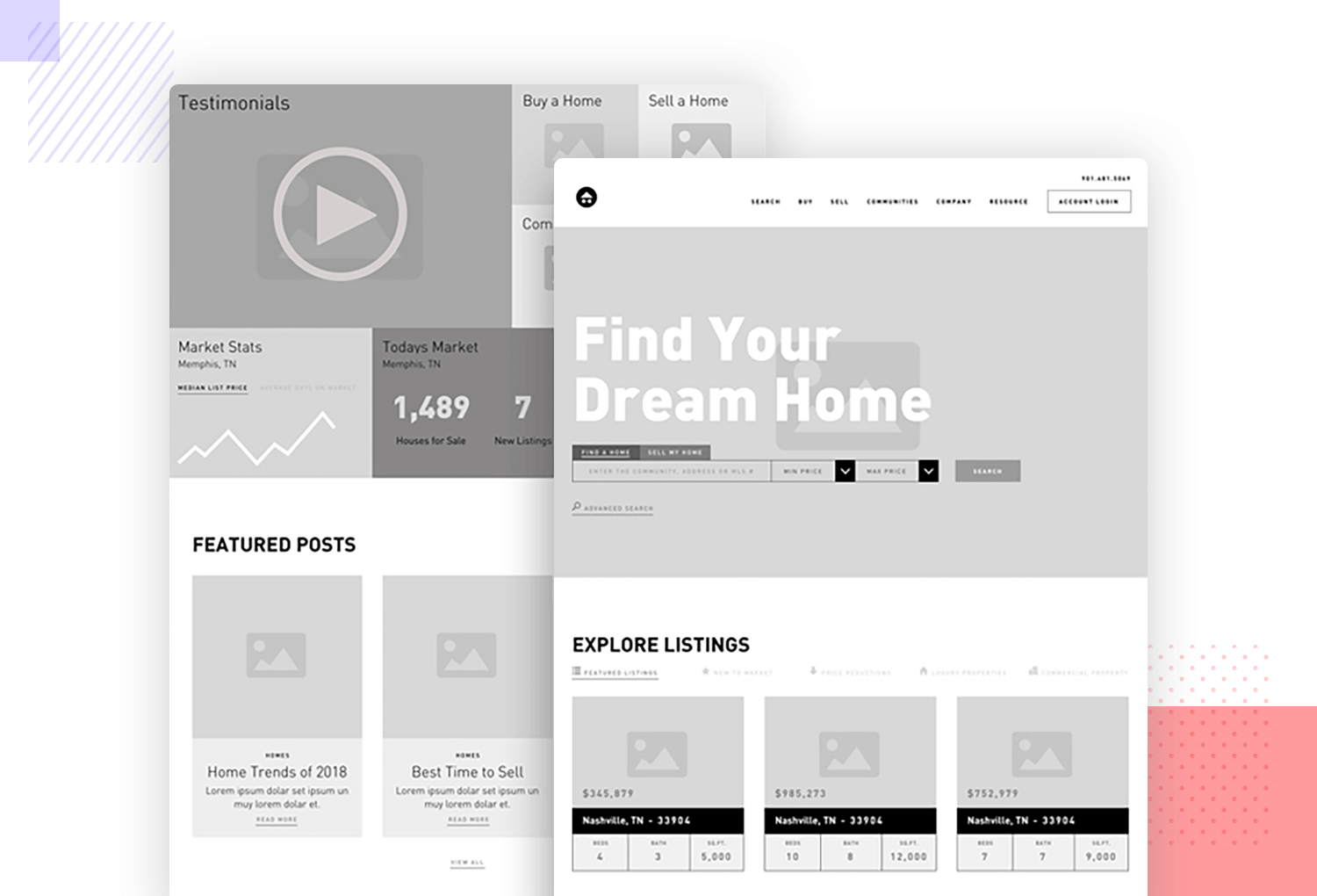 20 wireframing examples for web  mobile design inspiration