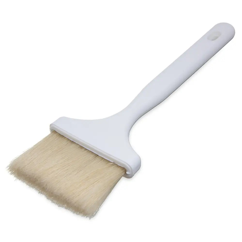 Pastry Brush Carlisle 4037900 Pastry Basting Brush 3 In Boar Bristles Molded Into Handle Hook