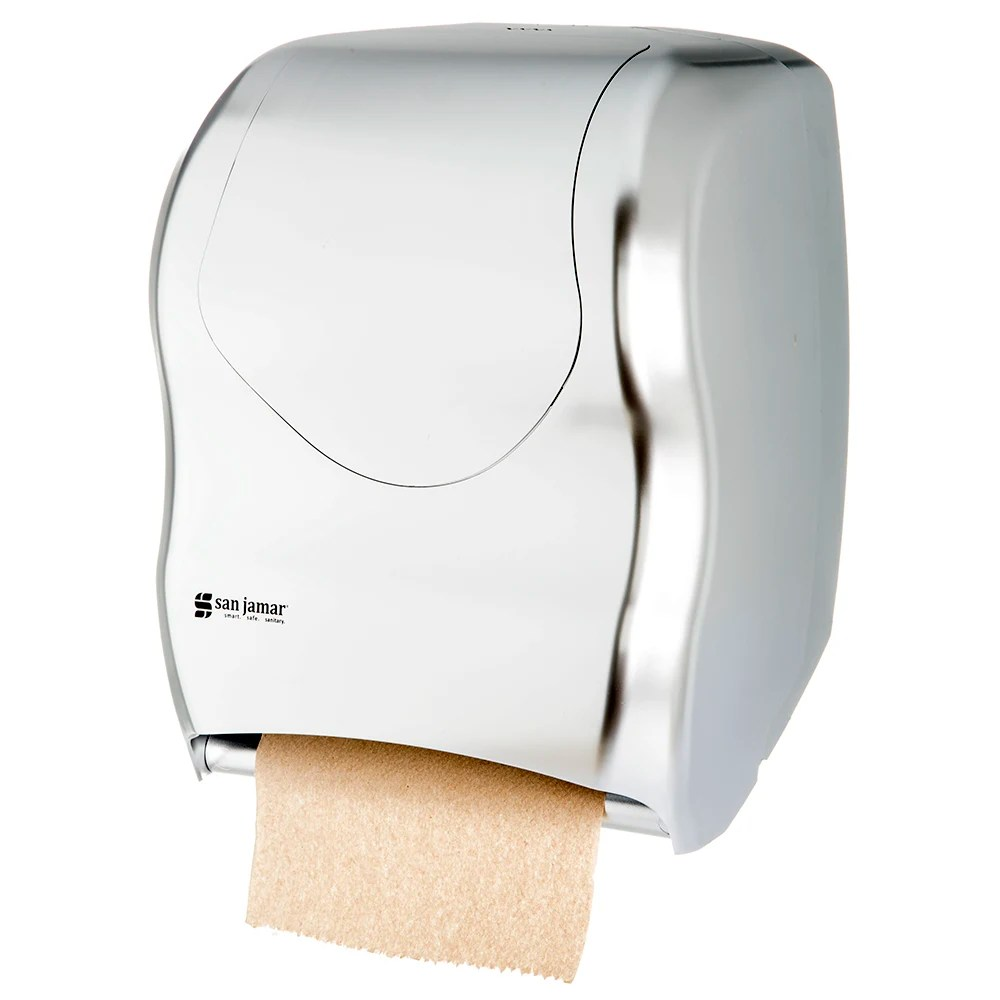 Wall Mount Paper Towel Dispensers San Jamar T1370ss Tear N Dry Wall Mount Paper Towel Dispenser Touchless Stainless