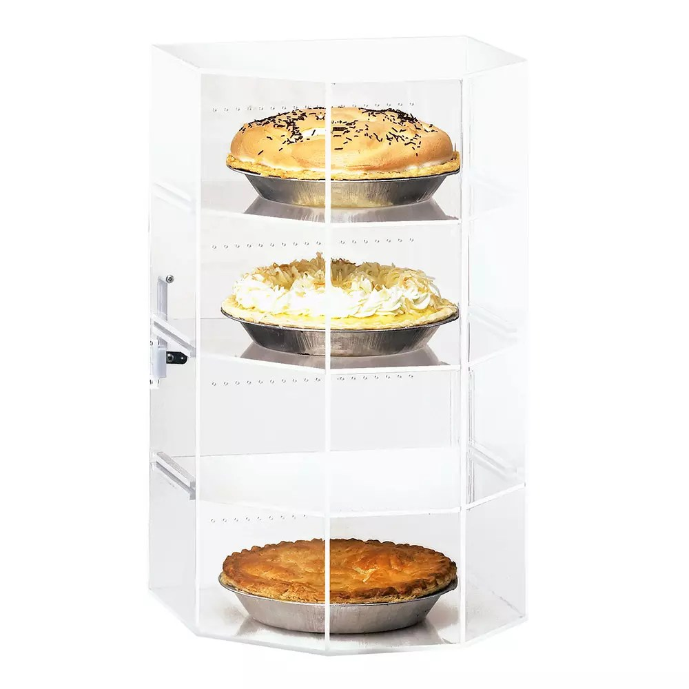 Countertop Food Display Case Cal Mil 252 Countertop Display Case W Hex Front 4 12 X 12