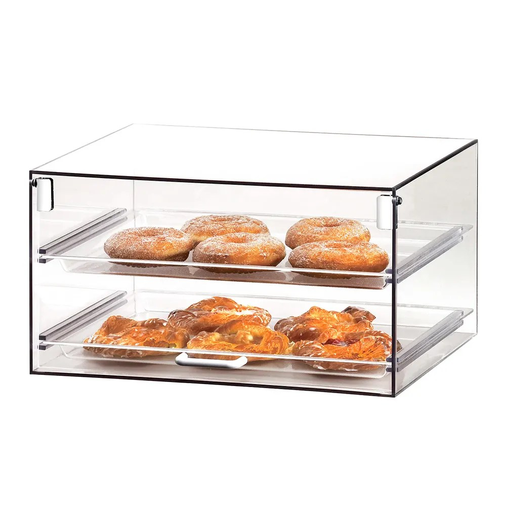 Countertop Food Display Case Cal Mil 921 Countertop Stackums Display Case W 1 Door 2 13 X 18
