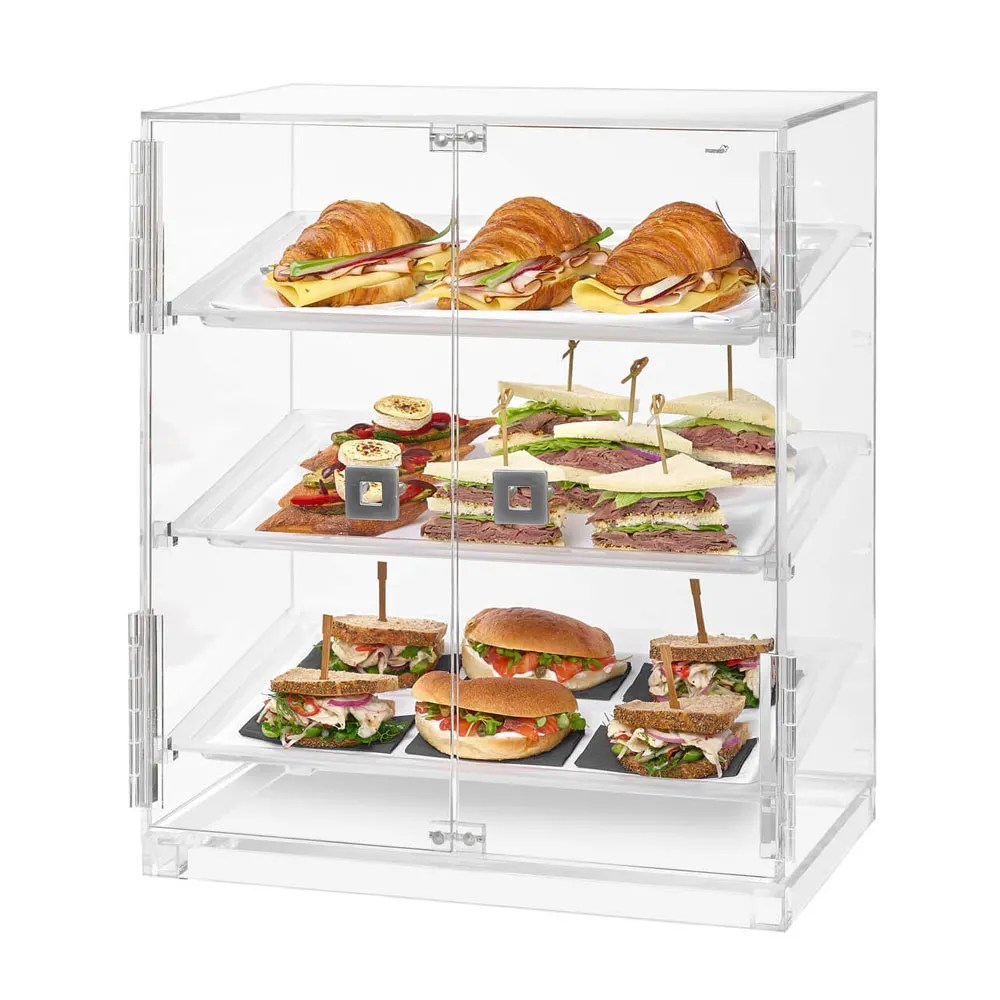 Bakery Display Cabinet Rosseto Bd129 Countertop Bakery Display Case W 3 Tiers 19 1