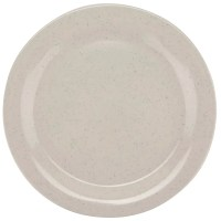 "GET BF-090-IR 9"" Round Dinner Plate, Melamine, White"