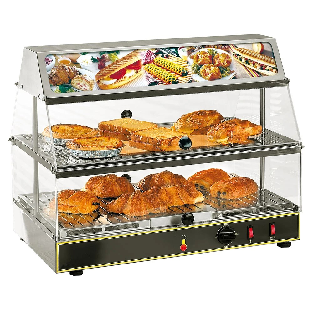 Countertop Food Display Case Equipex Wdl 200 24