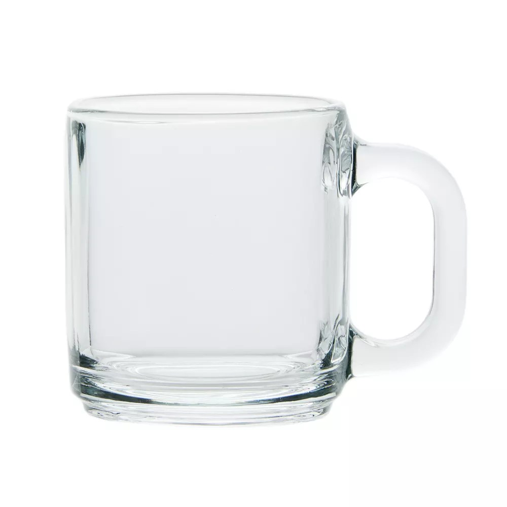 Sturdy Libbey Clear Glass Coffee Mug Drinking Spots Long Island Drinking Spots Ago furniture Cool Drinking Mugs