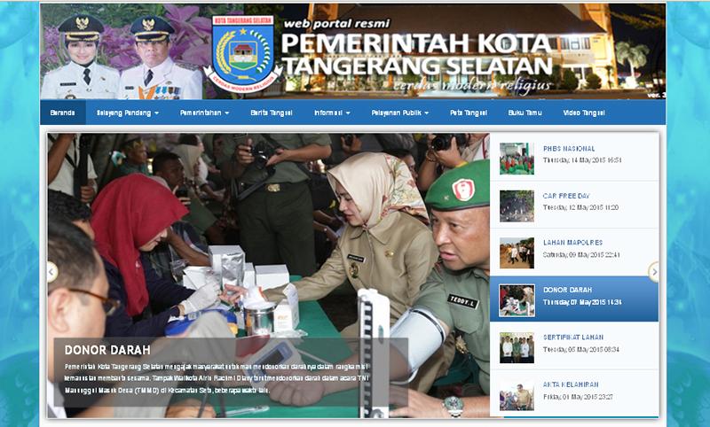 Pendaftaran Cpns Kota Tangerang Pengumuman Lowongan Rsud Kota Tangerang 2017 61kb Portal Resmi Pemerintah Kota Tangerang Selatan Selalu Aktual