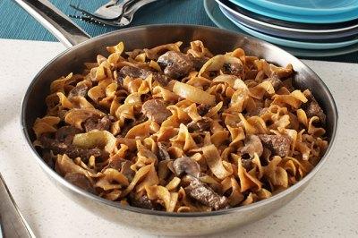 Creamy Beef Stroganoff - Kraft Recipes
