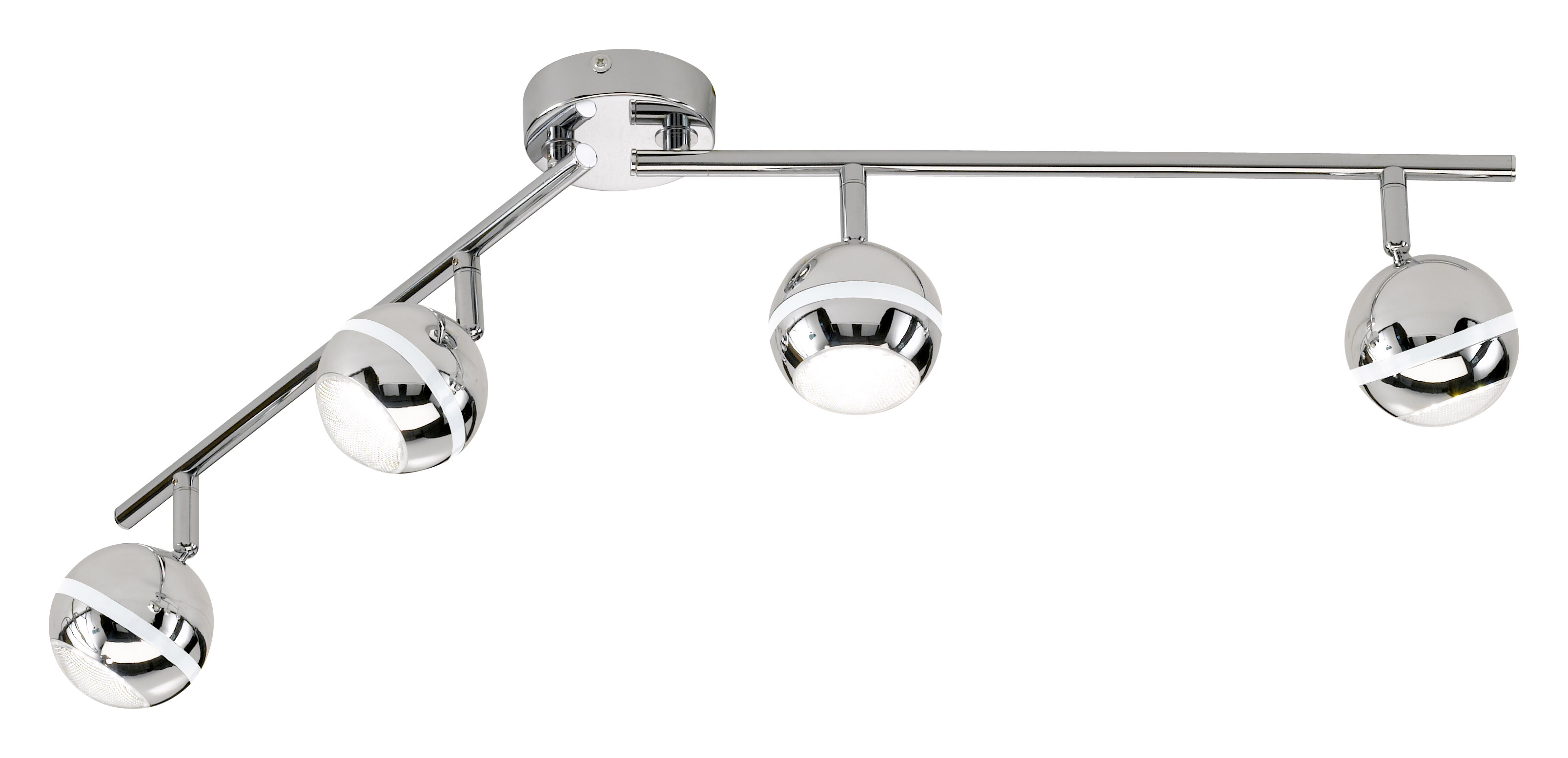 Ilja Led Built In Spotlight Adjustable Bar Mounted Adjustable Led Spot Lights Leyton Lighting
