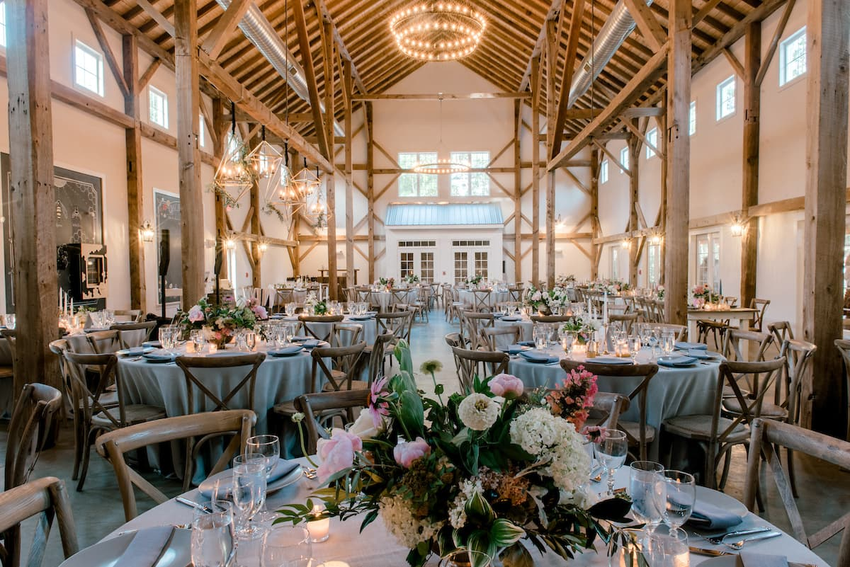 Farmhouse Restaurant Chapel Hill Weddings For Real 42 Inside The Barn Of Chapel Hill With Kara