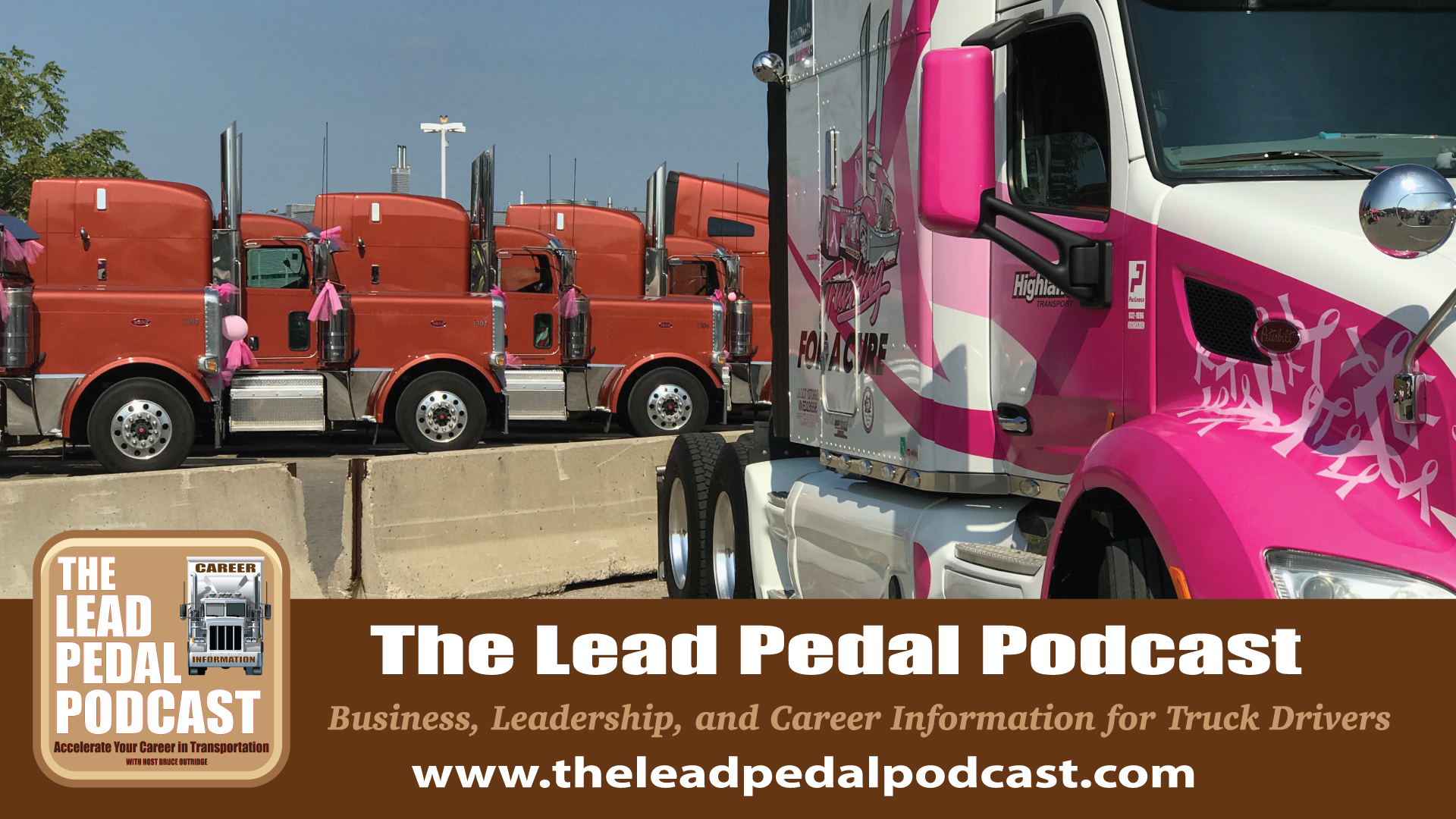 Career Trucking The Lead Pedal Podcast For Truck Drivers The Link Between