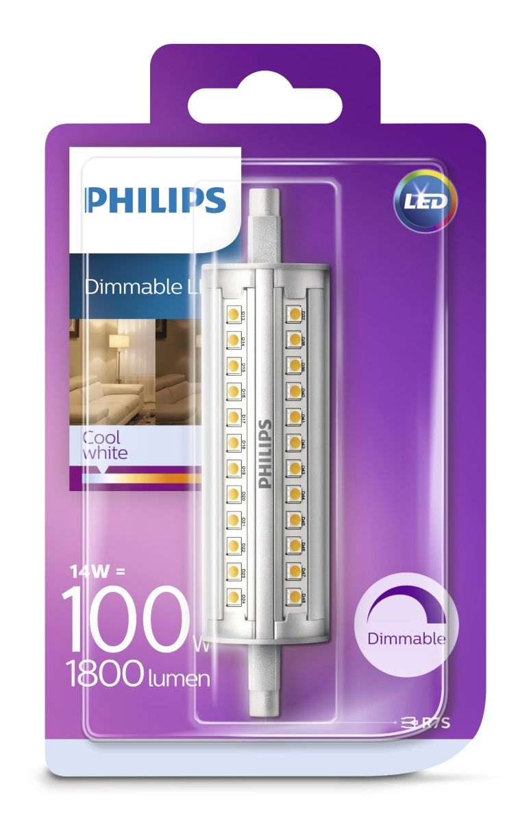 R7s Led Dimbaar Philips Led Linear Buis Dimbaar Linear Buis Dimbaar