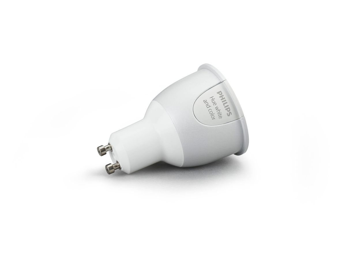 Hue G10 Hue White And Color Ambiance Single Bulb Gu10 8718696554913 Philips
