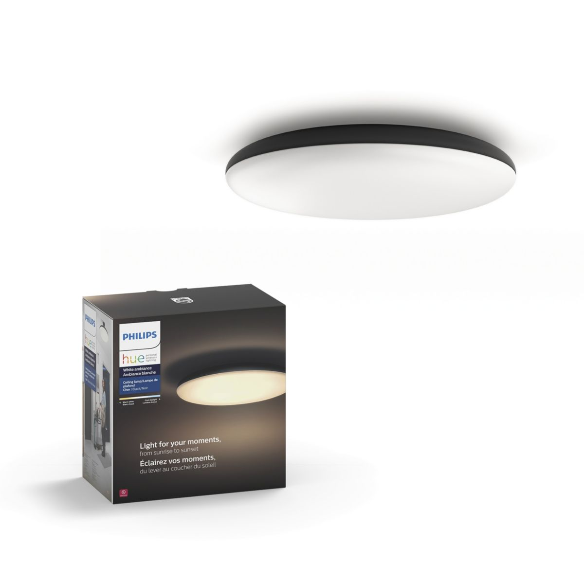 Philips Lampen Plafond Buy The Philips Hue White Ambiance Cher Ceiling Light 4096730u7 Cher Ceiling Light