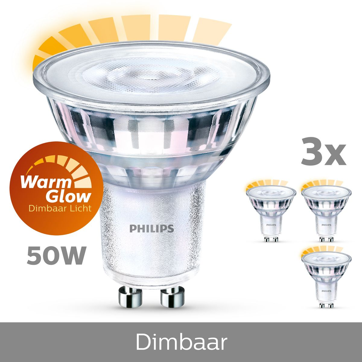 Led Spot Dimbaar 8718696582336 Philips