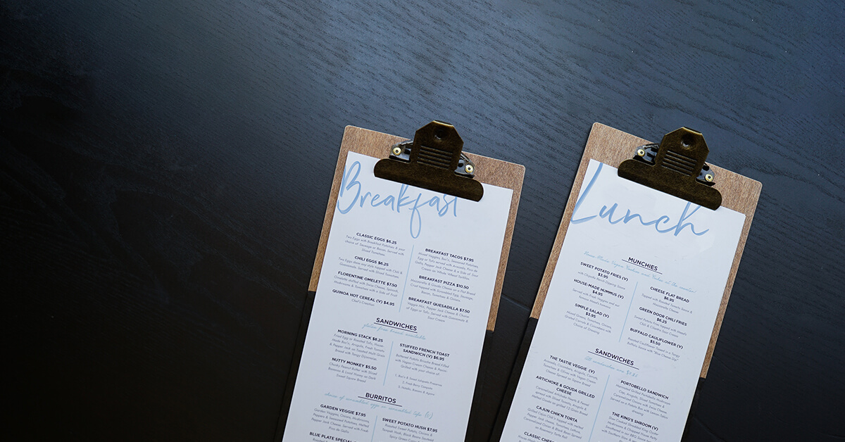 8 Inspiring Restaurant Menu Designs Lightspeed POS