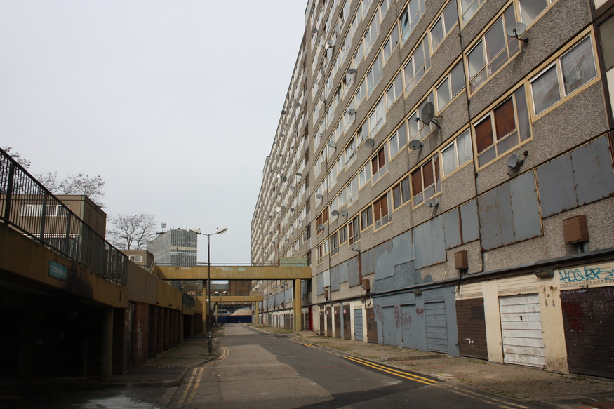 How Bad Is Modern Music In Pictures: The Heygate Estate, Se17 - A Modern Secret