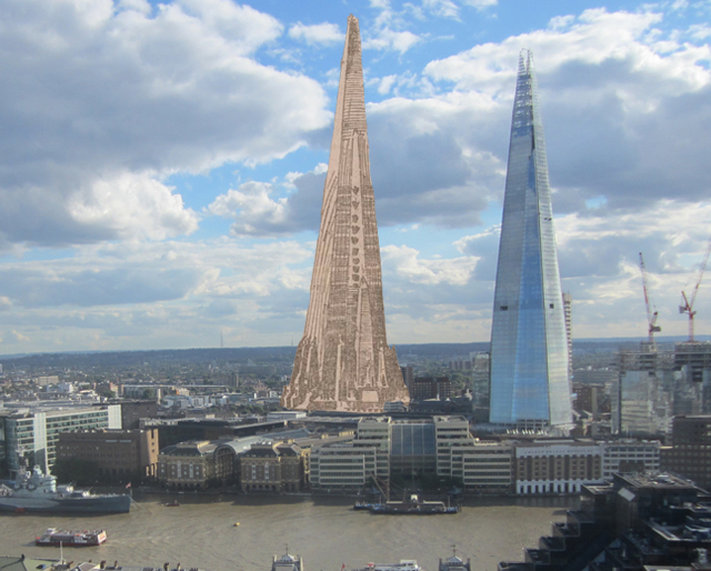 Building Construction Wallpaper Hd Plans To Build The Shard In Chicago Over 100 Years Ago