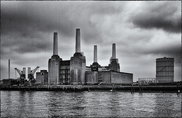 Cheap Black And White Wallpaper Battersea Power Station Chimneys Could Be Demolished