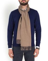 Men's Woven Pure Cashmere Scarf | MaisonCashmere
