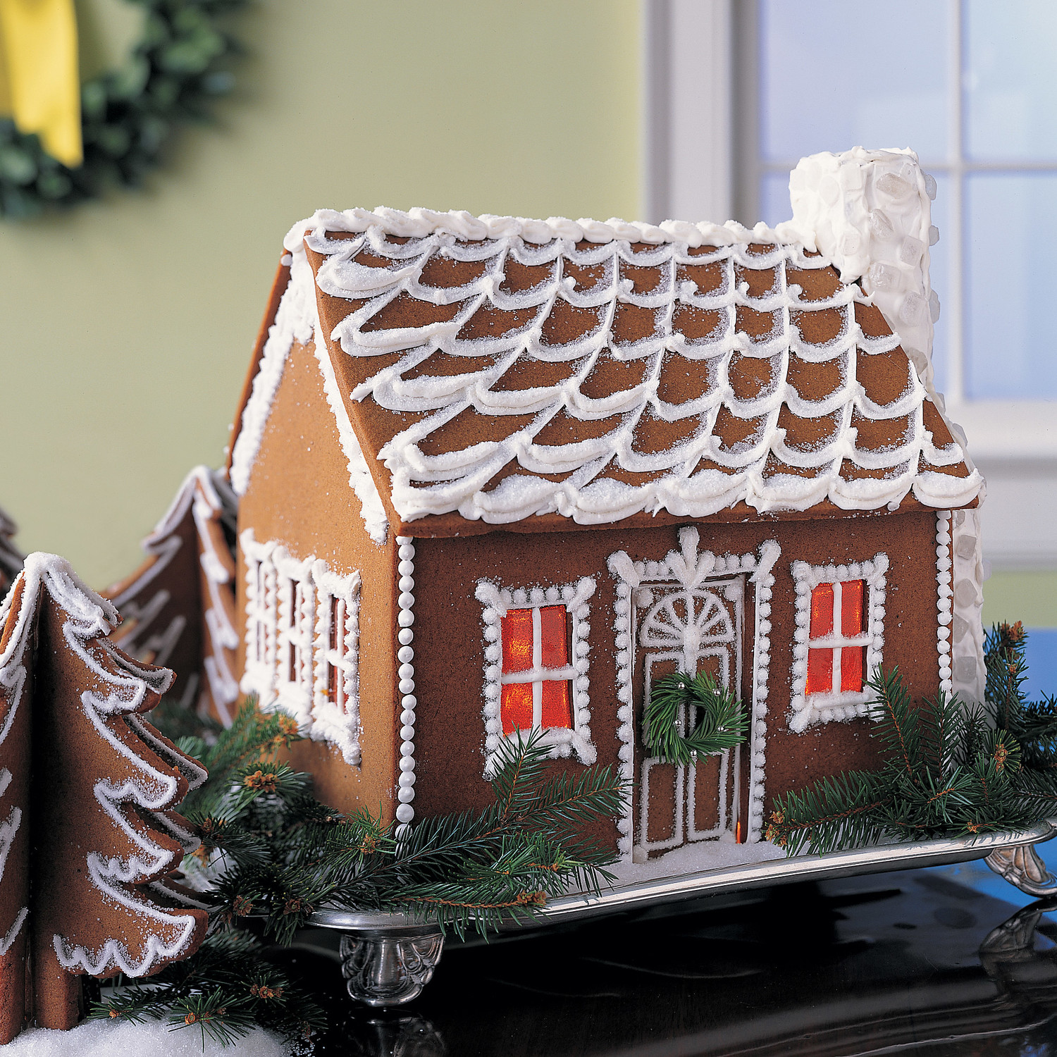 ginger bread house template