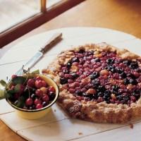 Rustic Three-Cherry Tart