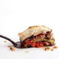 Zucchini, Tomato, and Lamb Lasagna