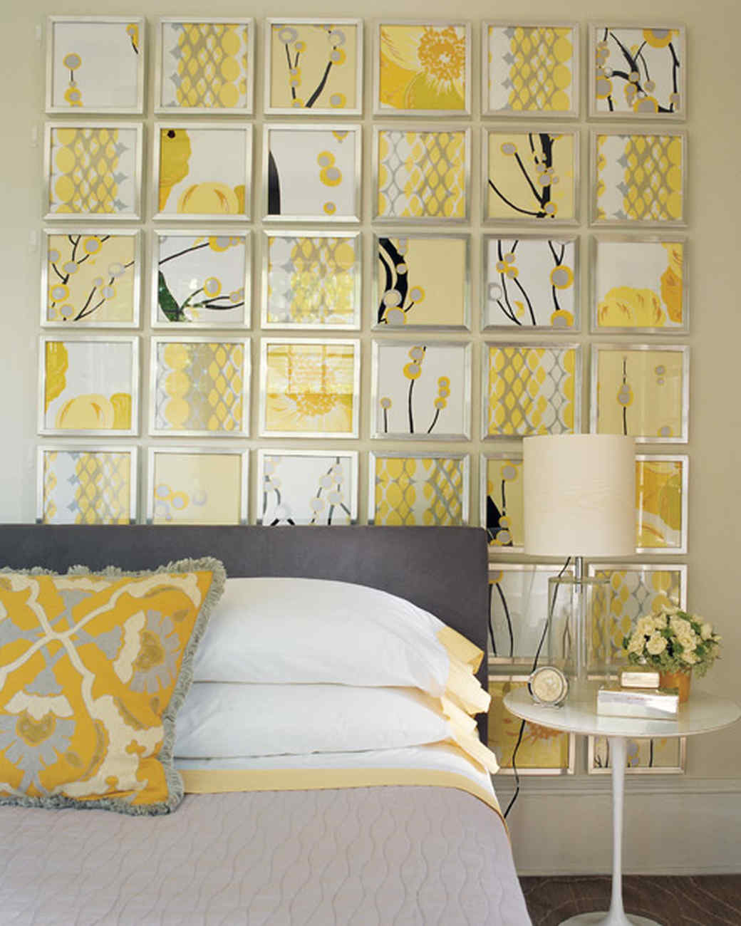 How To Decorate A Yellow Bedroom Yellow Rooms Martha Stewart