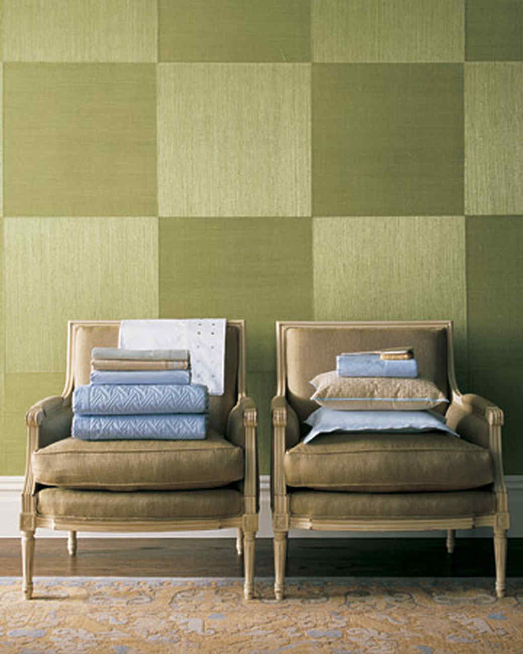Green Accent Wall Green Rooms Martha Stewart