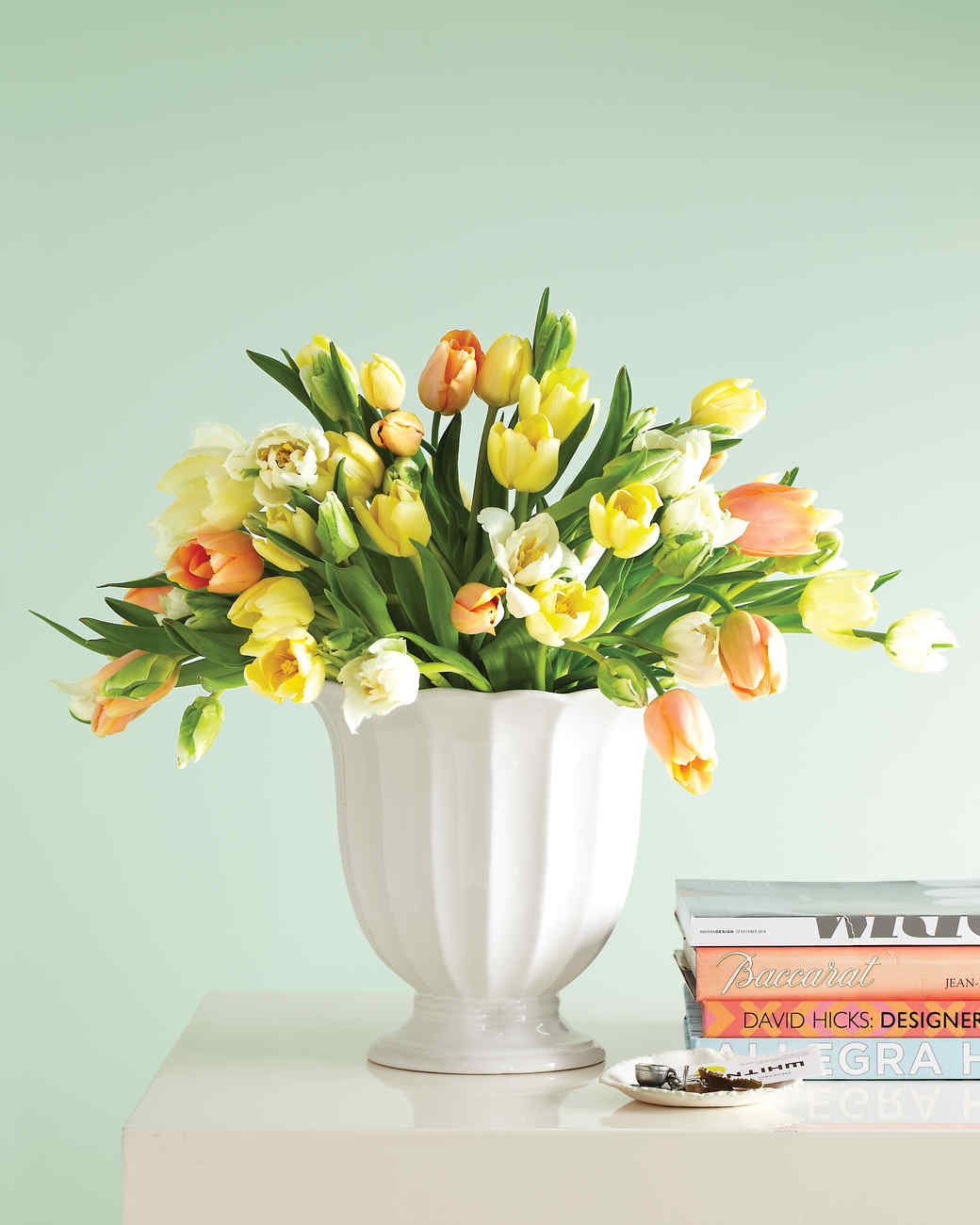 Tulips Flower Arrangement Tulip Arrangements | Martha Stewart
