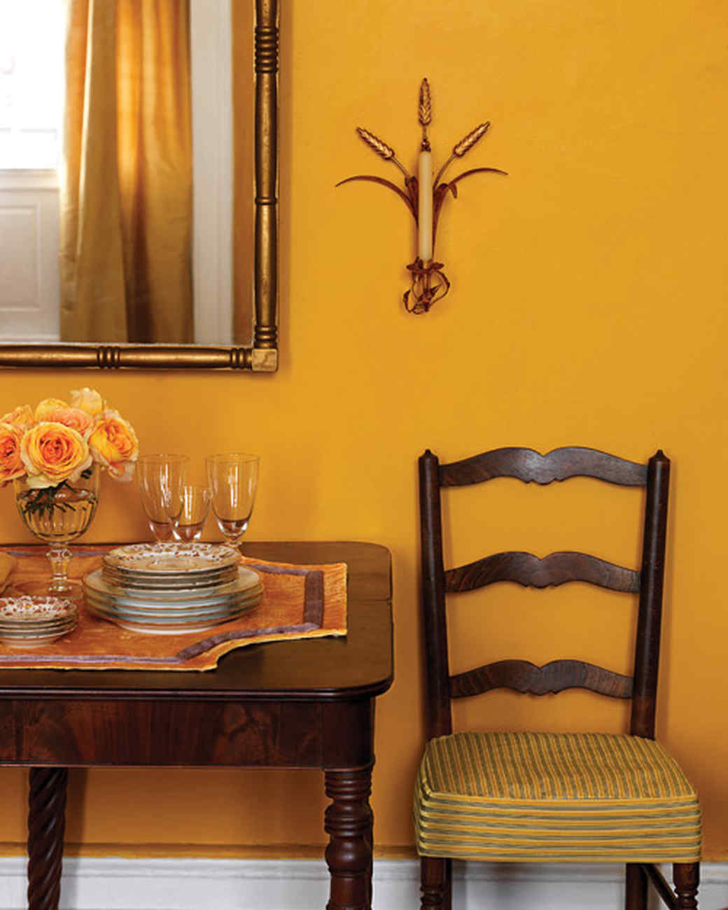Home Decor Yellow Walls Yellow Rooms Martha Stewart