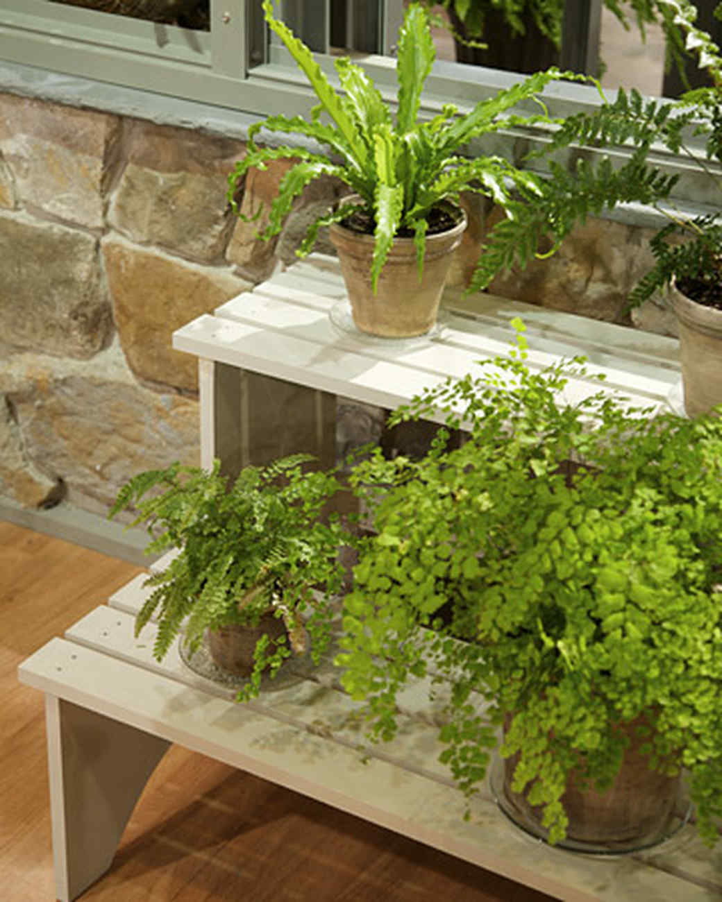 Build Plant Stand Tiered Plant Stand And Video Martha Stewart