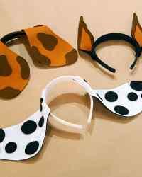 Felt Puppy Ears Headband | Martha Stewart