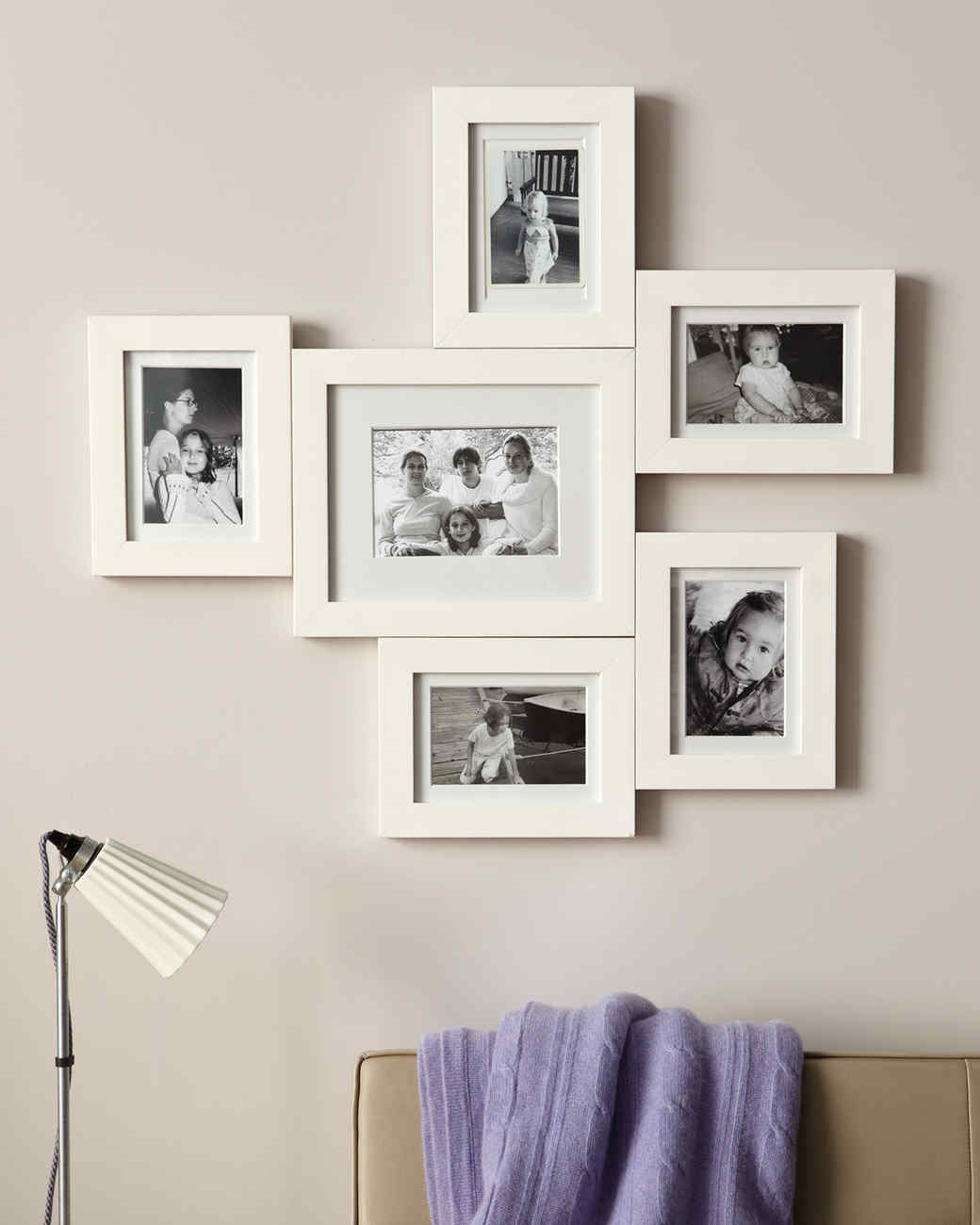 Cuadros Para Fotos Multiples Connected Photo Frame Display Martha Stewart