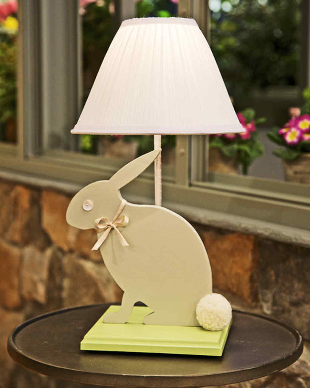 Animal Lamp For Nursery Nursery Lamp Video Martha Stewart