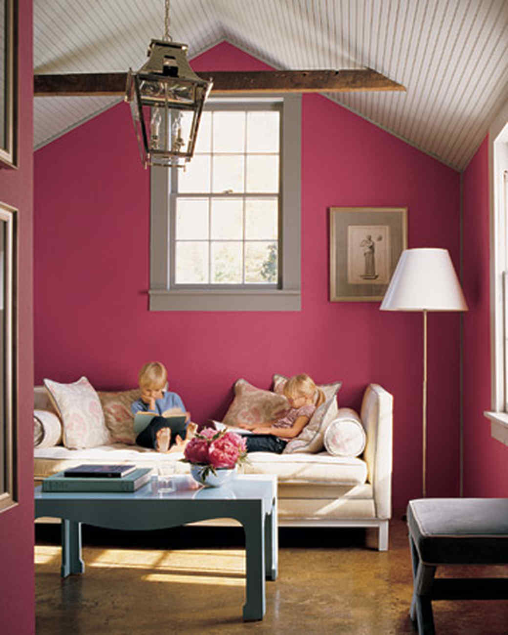 Color Schemes For Rooms Pink Rooms Martha Stewart