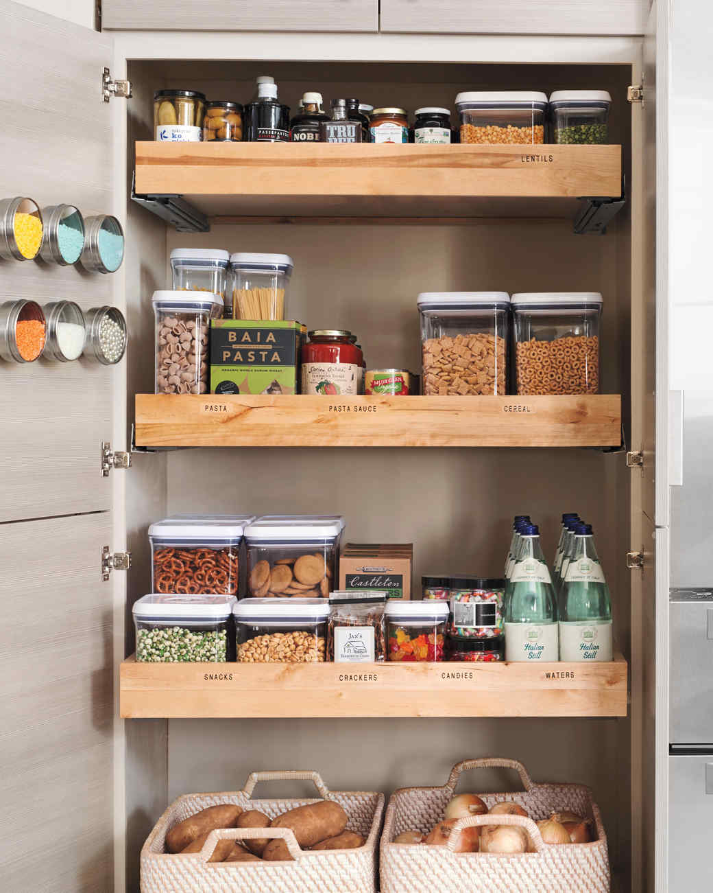 Kitchen Organizer Storage Kitchen Storage Organization Martha Stewart