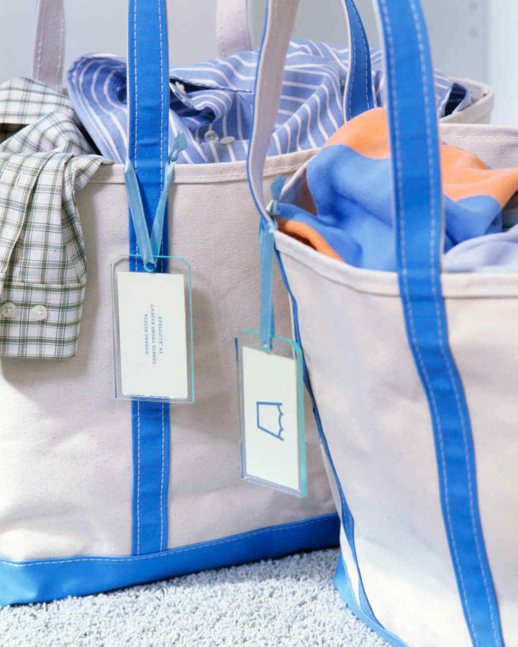 Small Canvas Laundry Bag Laundry Organizing Tips Martha Stewart