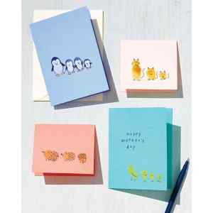 Terrific Kids Martha Stewart Mor S Day Card Ideas Fingerprint Cards Day Crafts Kids Mor S Day Card Ideas Preschoolers