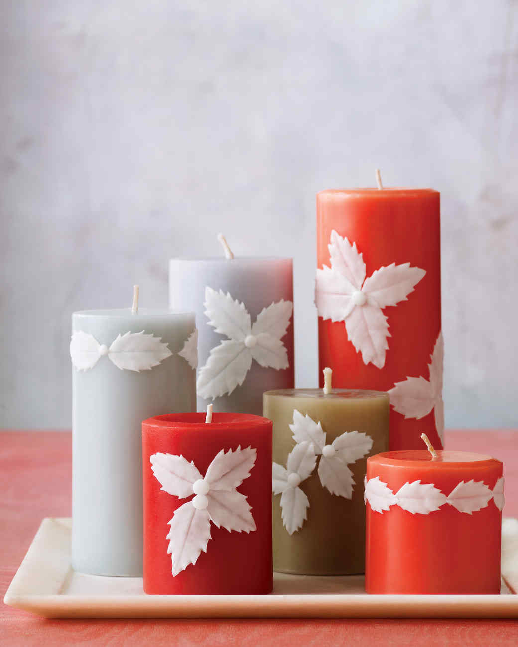 Fall Outdoor Decorations Wallpaper Easy Holly Candles Martha Stewart